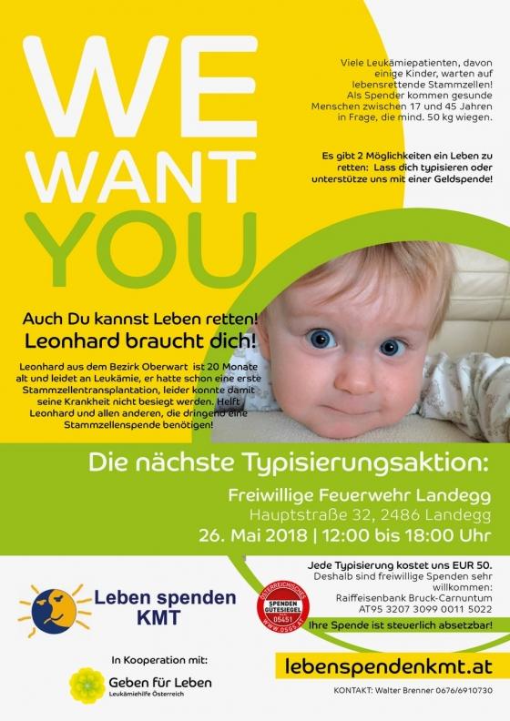 Landegg/ Niederösterreich für Leonhard