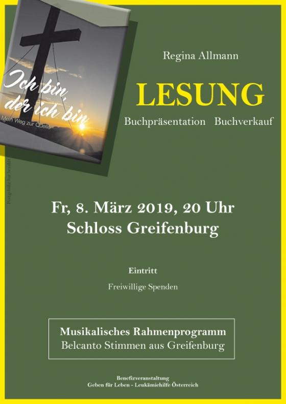 Benefizlesung auf Schloss Greifenburg
