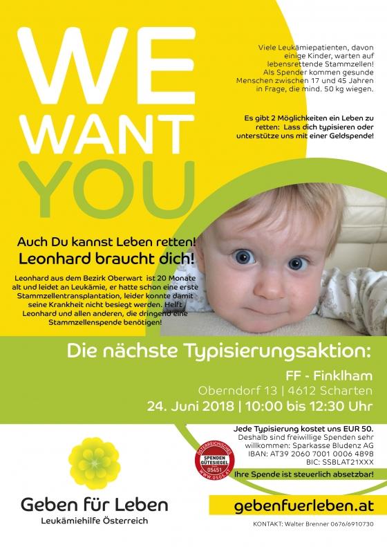 Freiwillige Feuerwehr Finklham für Leonhard (1)