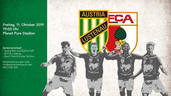 Benefizspiel SC Austria Lustenau und FC Augsburg