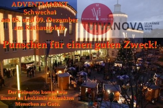 Adventsmarkt Schwechat mit Vivanova