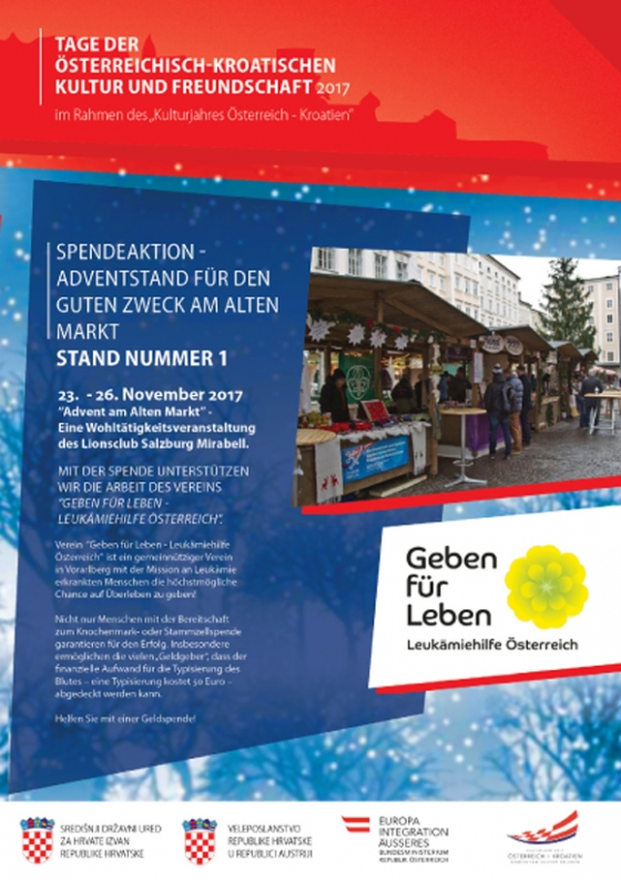 Lionsclub Adventstand in Salzburg