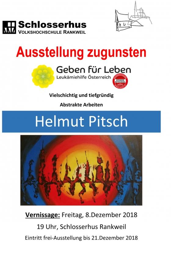Benefiz Vernissage Helmut Pitsch