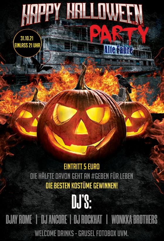 Halloween Party auf der Alten Fähre in Lochau