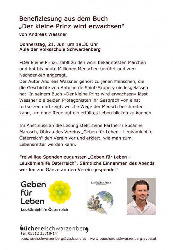 Benefizlesung in Schwarzenberg