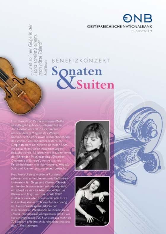 Benefizkonzert Sonaten und Suiten