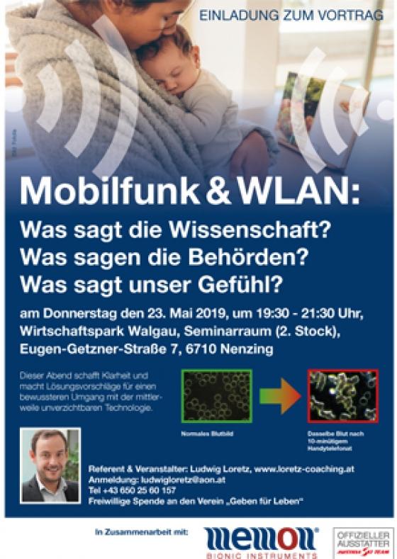 Benefizvortrag zum Thema Mobilfunk und WLAN