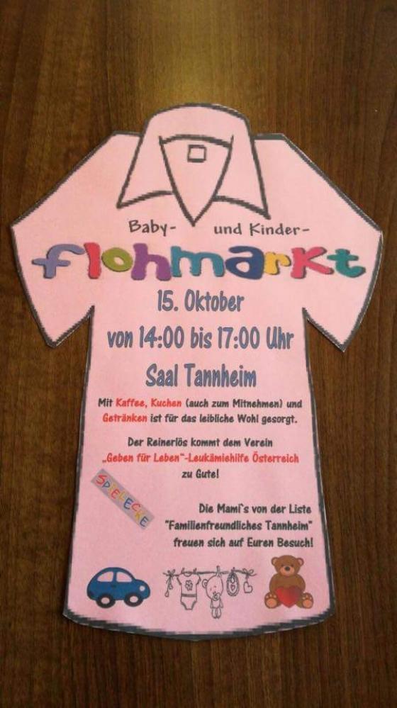 Baby- und Kinderflohmarkt im Tannheimer Tal