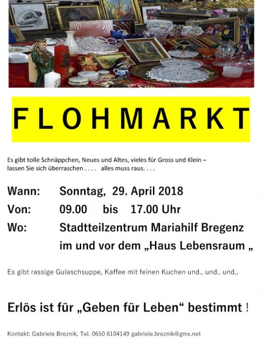 Flohmarkt Mariahilf Bregenz