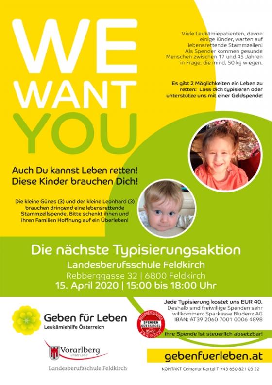 ACHTUNG! WIRD VERSCHOBEN WEGEN CORONA: Landesberufsschule Feldki