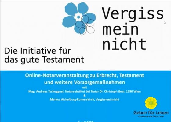 Vorarlberger Notar informiert online zu Erbrecht und Testament