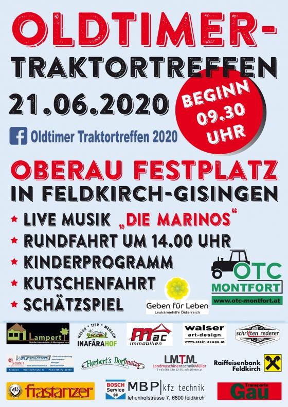 Oldtimer-Traktortreffen in Feldkirch