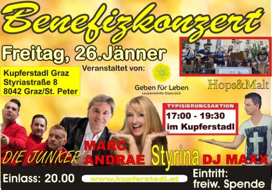 Benefizkonzert Kupferstadl Graz