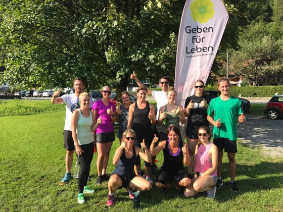 Charity Bootcamp spendet € 164,50