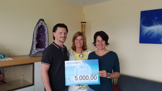 € 5.000,- von Ehepaar Lau aus Weiler
