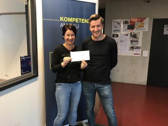 € 500,- von Nägele Hoch & Tiefbau