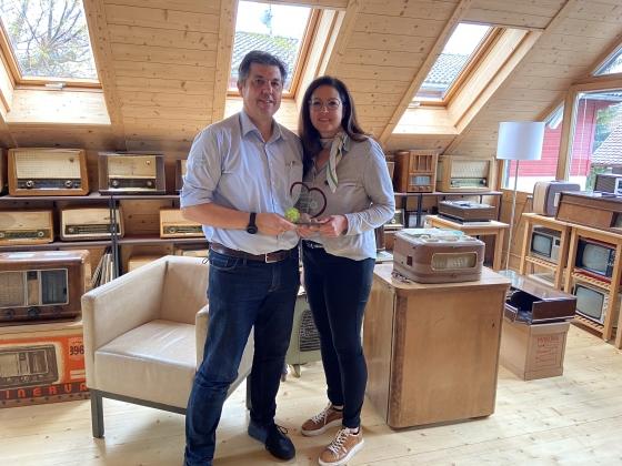 Award der Dankbarkeit für Günther und Sonja Kolb aus Hard