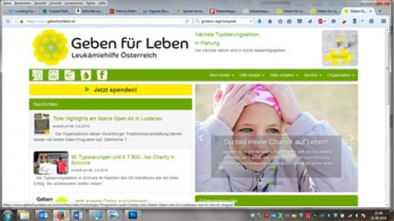 Onlinespenden auf unserer Homepage nun möglich