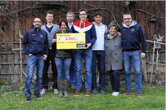 Charity-Kränzle aus Schruns spenden € 2.360,-
