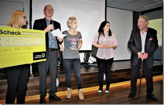 80er Geburtstag mit Spenden statt Geschenken spendet € 1.100,-