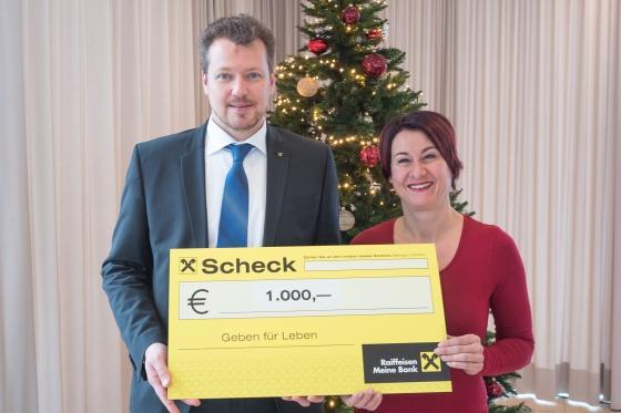20 Neutypisierungen gesponsert von Raiffeisenbank im Rheintal