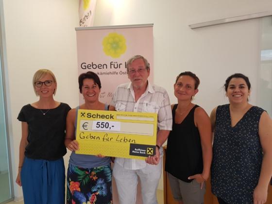 € 550,- von Bregenzer Flohmarkt