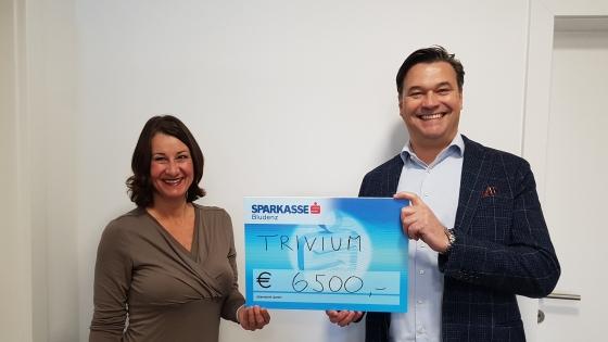 € 6.500,- von der Trivium-Group