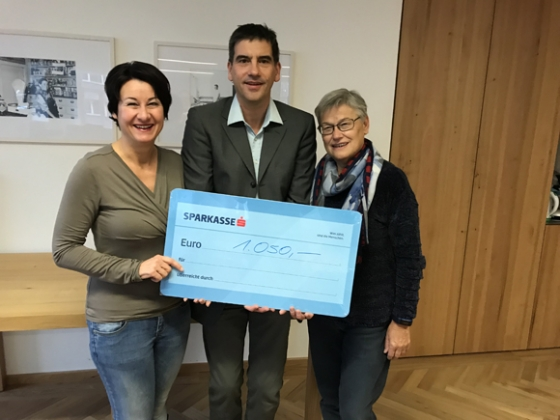 € 1.050,- von der Musikschule Bregenzerwald