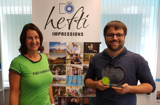 Imagefilm von Hefti Impressions bringt Award der Dankbarkeit