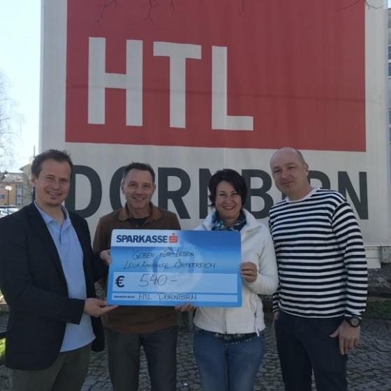 € 540,- von der HTL Dornbirn
