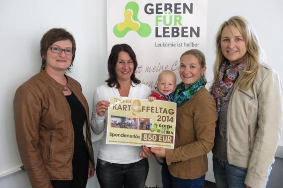 Thaler Frauen spenden € 850,-!