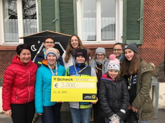 Pfadfinder St. Martin Altenstadt-Levis spenden € 3.000,-