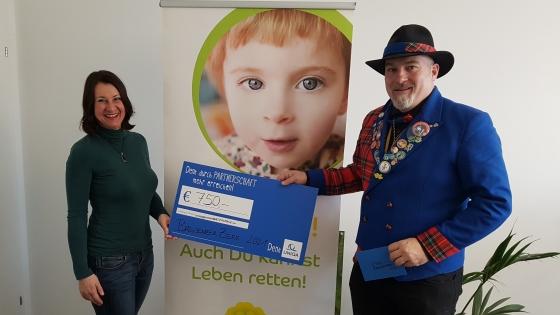 € 750,- von Bregenzer Alt-Zeremonienmeistern