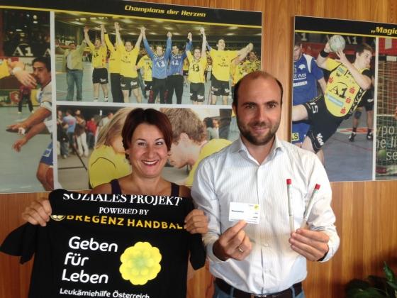 Bregenz Handball spendet € 148 nach Entenverkauf