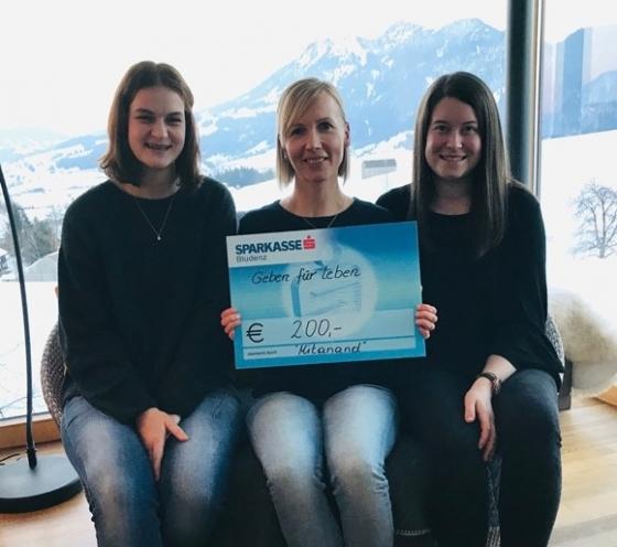 € 200,- nach Maturaprojekt an der HLT Bezau