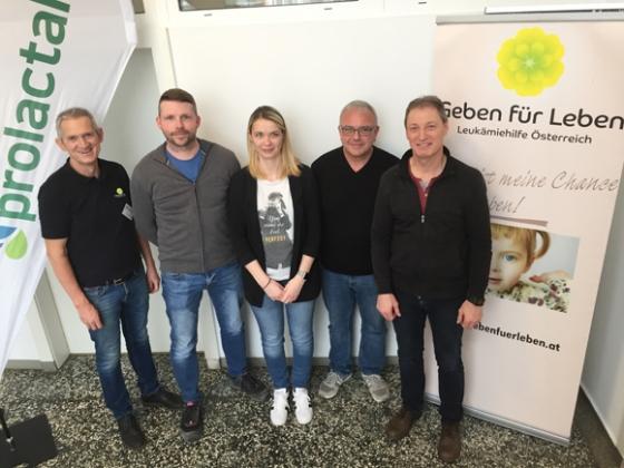 16 Neutypisierungen bei Firma Prolactal in Hartberg