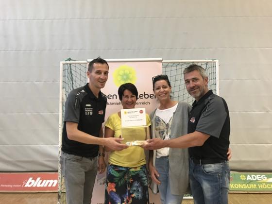 € 413,20 beim Nichtradballer-Turnier in Höchst