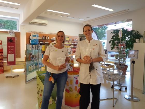 1.500 Teststäbchen von Marien Apotheke gespendet
