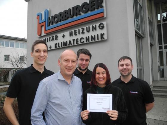 Weihnachtstombola der Firma Hörburger GmbH!