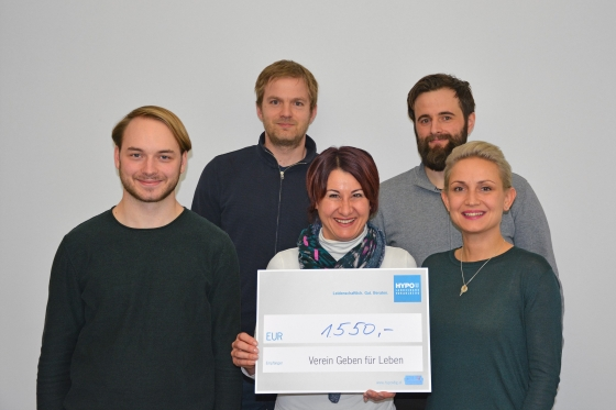 Firma Arkulpa spendet € 1.550,- nach Aktion in Lustenau