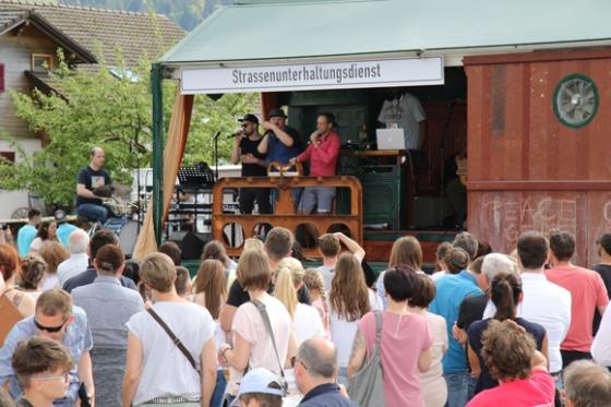 Sensationelles Benefizfestival in Sibratsgfäll