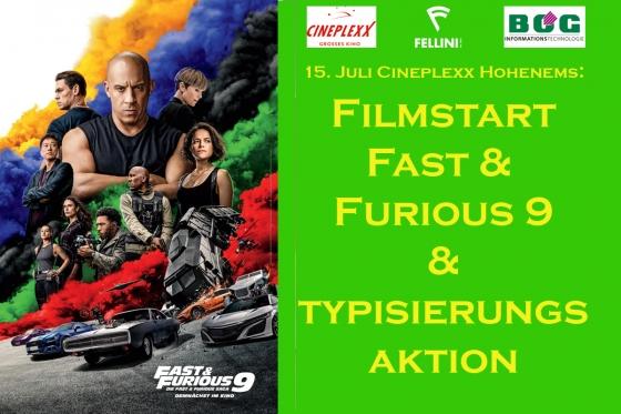 Vier Wochen Lifesaver-Corner zum Start von Fast & Furious 9