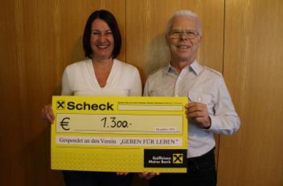 € 1.300 durch 70er Geburtstag!