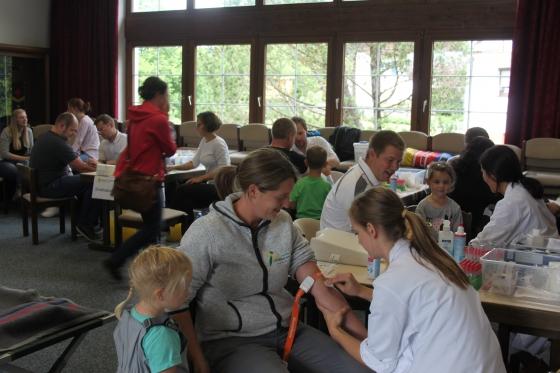 605 Neutypisierungen und € 3.504,30 an Spenden in Reutte