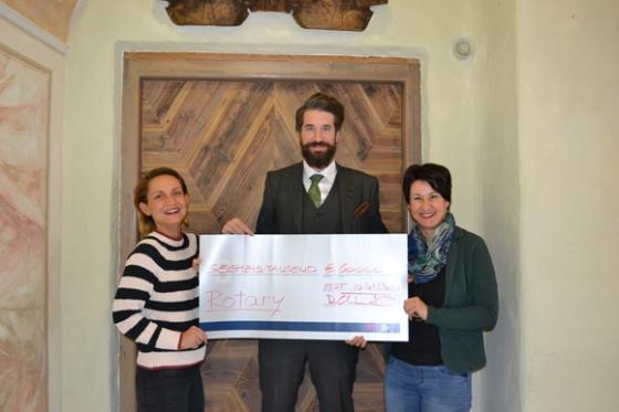 € 60.000,- durch Rotary Club Imst-Landeck