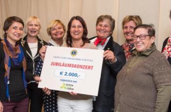 Lions Fortuna spendet € 2000!