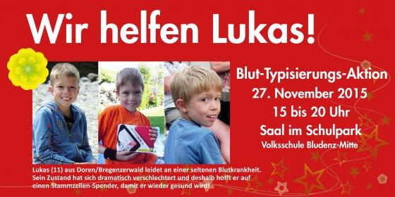 Weihnachtswunder in Bludenz - Wir suchen einen Spender für Lukas