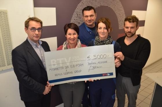 € 5.000,- von ELB-Form & Remus Sebring