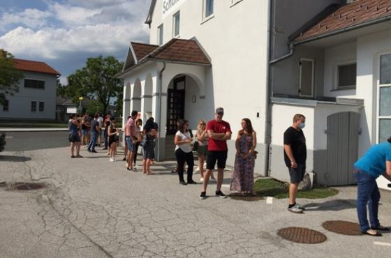 535 Typisierungen in Oberwart / Burgenland