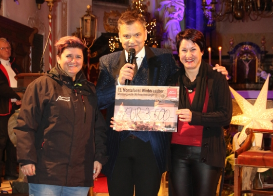 Über € 4.200,- nach Spendenkonzert von Markus Wolfahrt